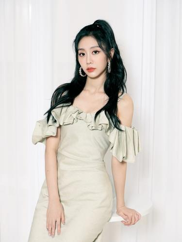This photo, provided by Woollim Entertainment, shows Seo Ji-soo, a member of K-pop girl group Lovelyz. (PHOTO NOT FOR SALE) (Yonhap)