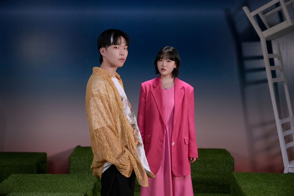 This photo, provided by YG Entertainment, shows sibling duo AKMU. (PHOTO NOT FOR SALE) (Yonhap)