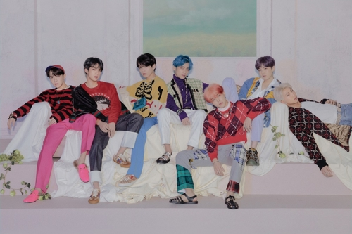 Le groupe BTS. (Photo fournie par Big Hit Entertainment. Revente et archivage interdits)