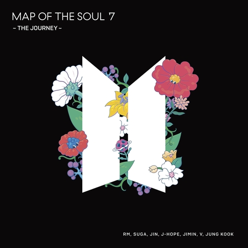 «Map of the Soul: 7-The Journey», le nouvel album japonais de BTS. (Photo fournie par Big Hit Entertainment. Revente et archivage interdits)