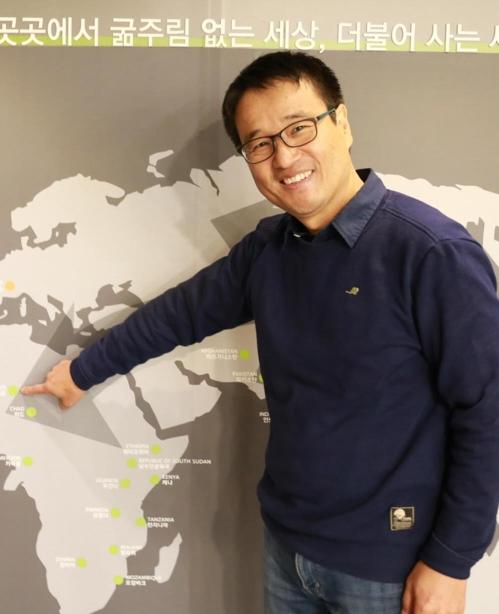 해외봉사상 최고상인 대통령상 받은 안승진씨