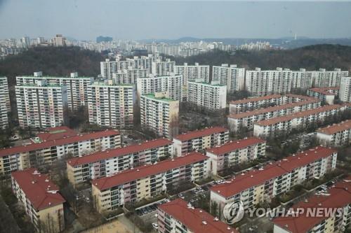 목동아파트 단지 [연합뉴스 자료사진]
