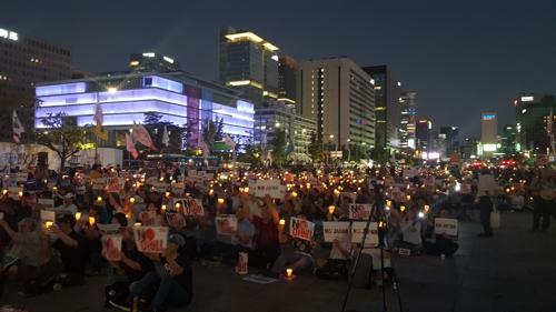 아베 총리 규탄 제6차 촛불문화제