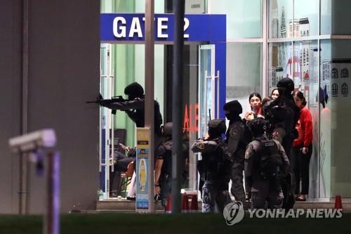 태국 군인 총기난사 발생한 쇼핑몰
