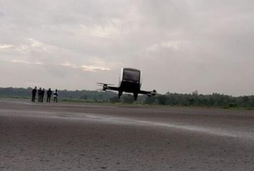 인도네시아 족자카르타서 '드론 택시' 첫 시험 비행