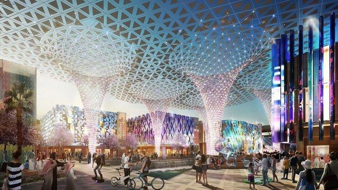 두바이 엑스포 2020 전시관 이미지