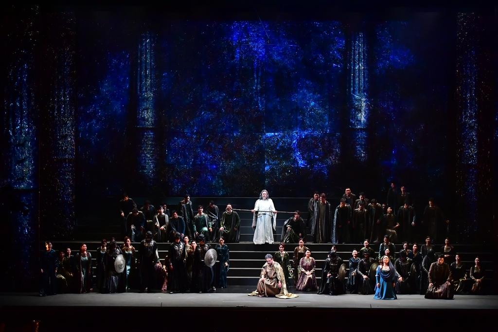 국립오페라단 '나부코' 공연 모습