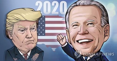 바이든 대통령(오른쪽)과 트럼프 전 대통령