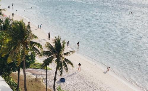 괌 해변.[괌 정부관광청 제공]