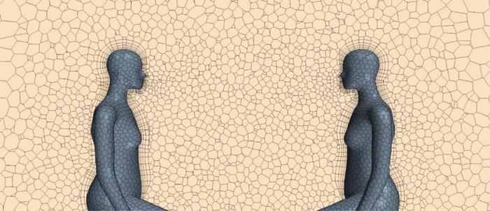 실내 환기 시스템은 감염자와 비감염자가 2m 간격을 두고 있어도 두 사람 사이의 전염 속도에 큰 영향을 미칠 수 있다. [펜실베이니아대 임동현 교수 제공. 재판매 및 DB 금지]