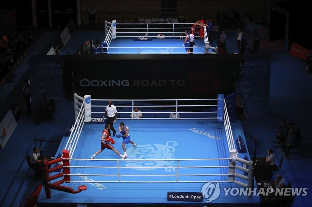 무관중으로 진행되다가 취소된 도쿄올림픽 복싱 유럽 예선