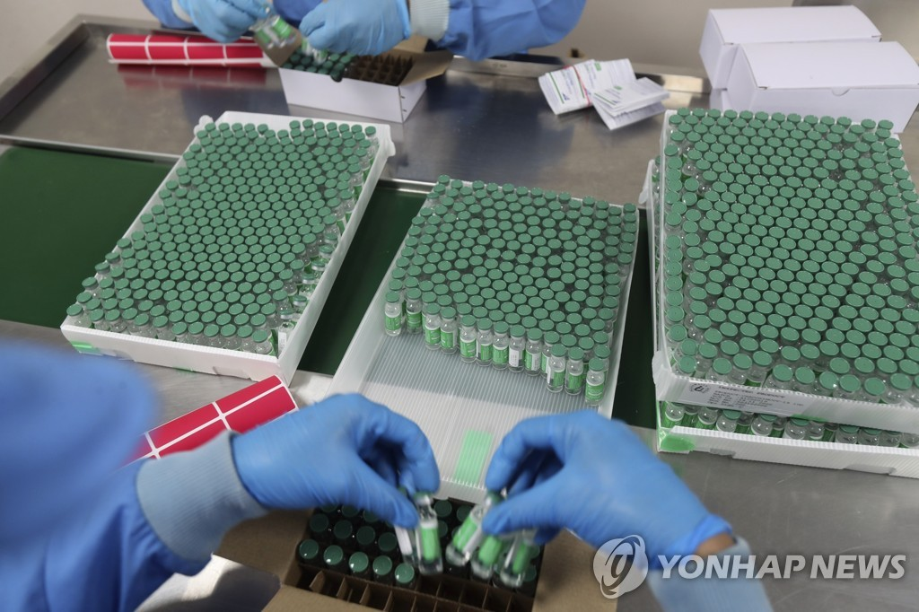 '세계의 백신공장' 인도, 내수 부족에 AZ백신 수출 일시 중단