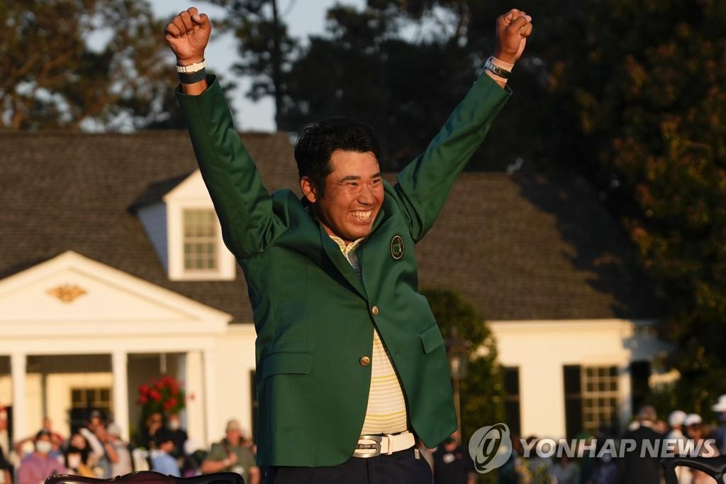 아시아 선수 최초로 마스터스 우승한 마쓰야마 히데키