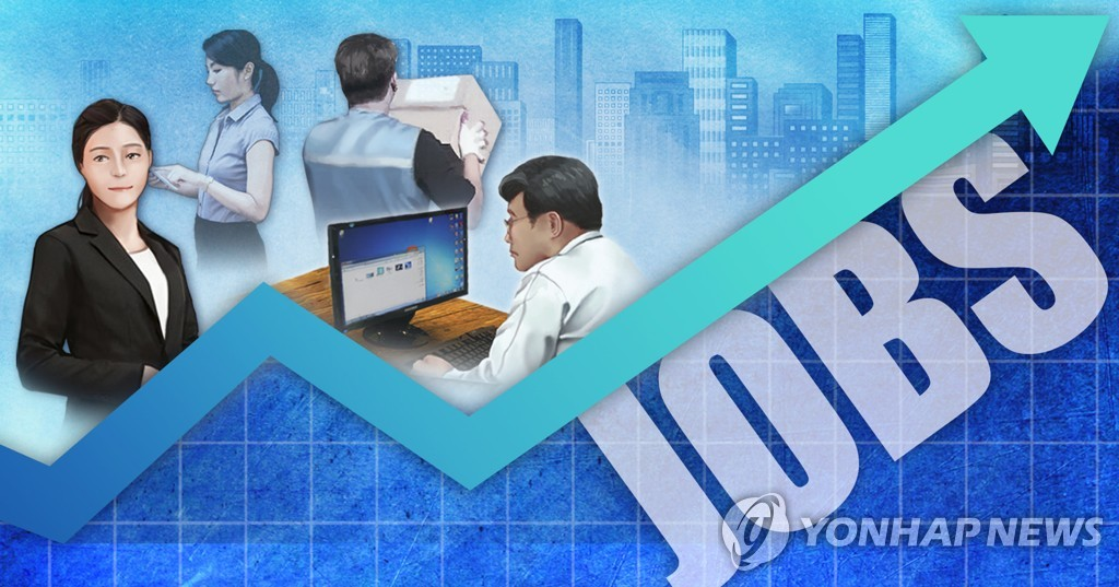 (LEAD) S. Korea's jobless rate drops to 4.3 pct in March - 1
