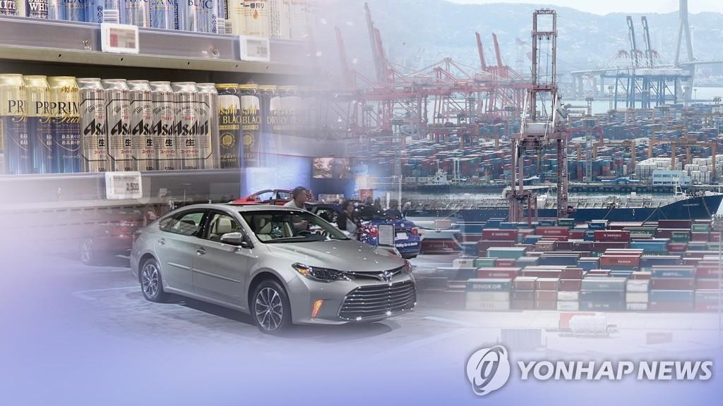 규제 두달간 日수출서 한국비중 더 커져…수출국 3위 유지