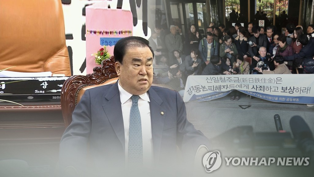 This photo, provided by Yonhap News TV, shows National Assembly Speaker Moon Hee-sang. (Yonhap)
