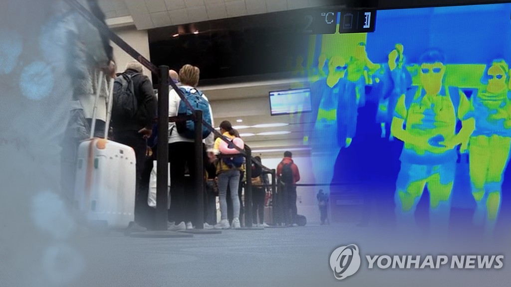 (LEAD) 78 countries restricting entry from S. Korea over coronavirus fears - 1