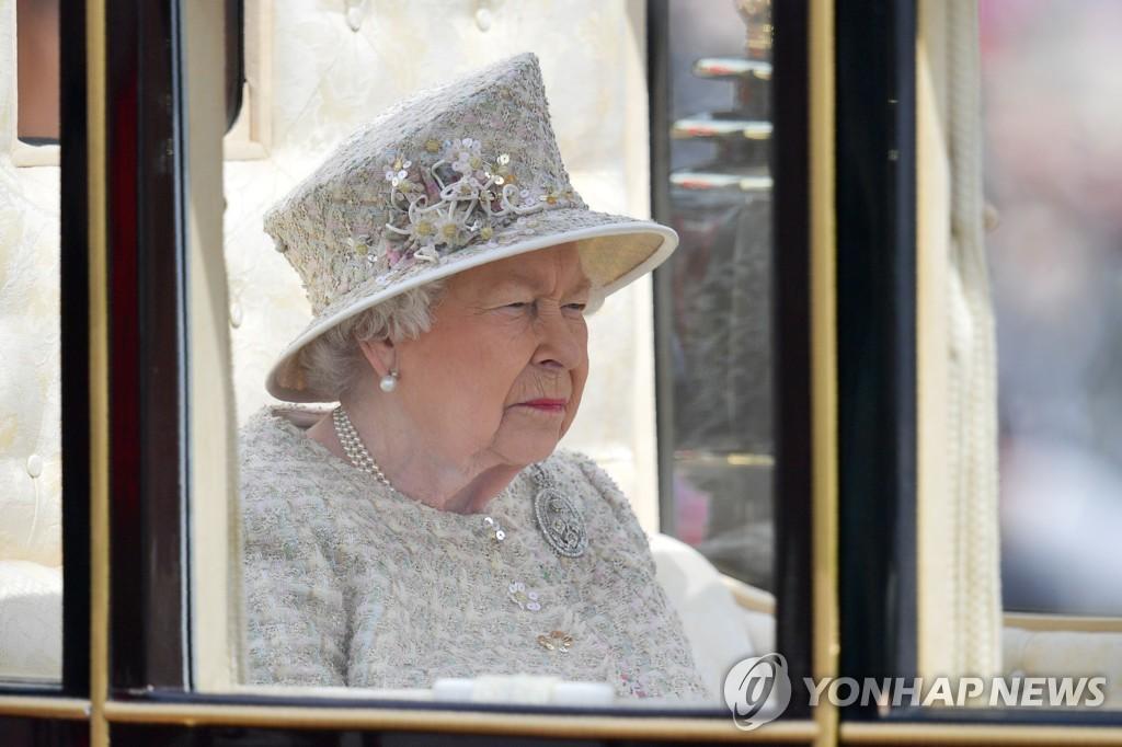 93세 생일 행사에 참석한 영국 엘리자베스 2세 여왕 [AFP=연합뉴스]