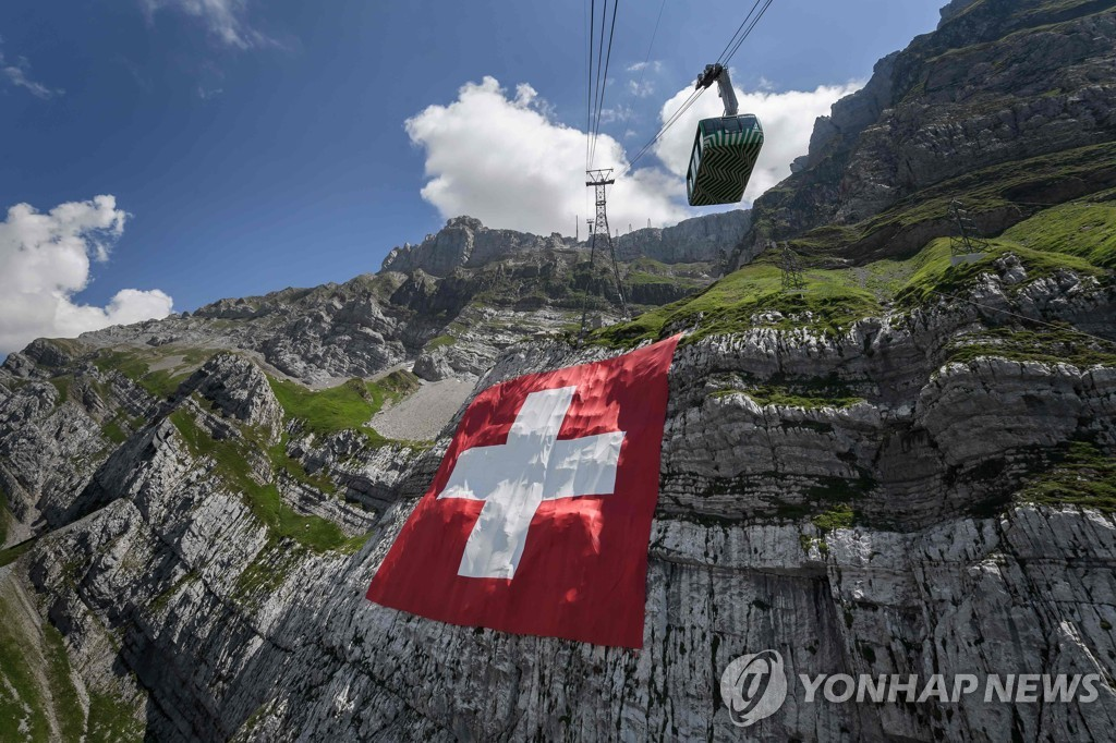 SWITZERLAND-TOURISM-MOUNTAINS-NATIONAL DAY