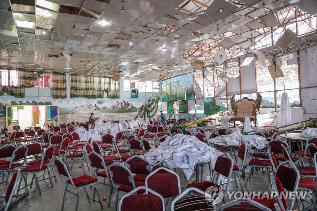 AFGHANISTAN BOMBING WEDDING HALL