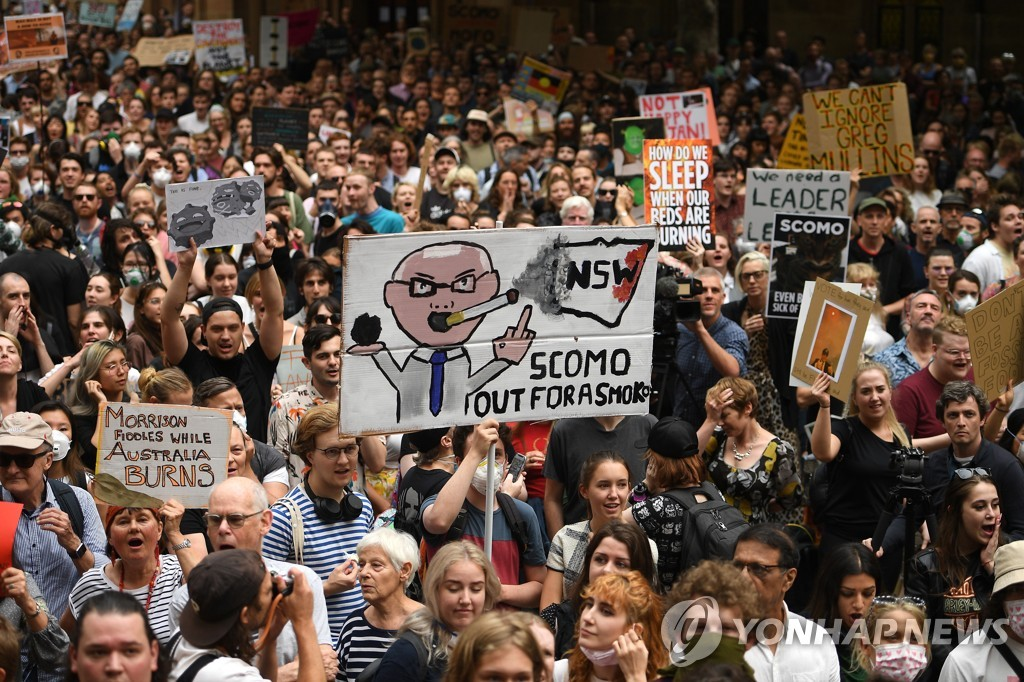 AUSTRALIA PROTEST CLIMATE EMERGENCY