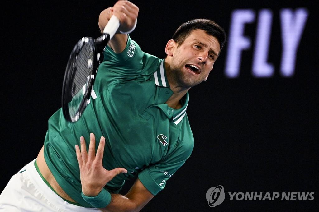 조코비치, 호주 오픈 테니스 3 라운드 우승 … 라오 니치 16 강전 (총합)