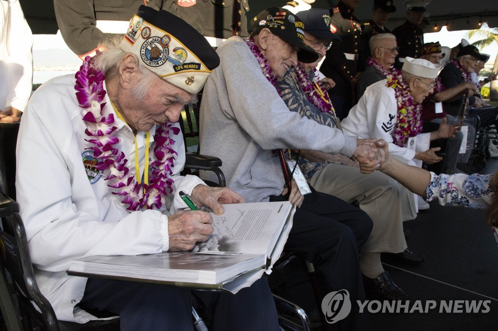 US-PEARL-HARBOR-COMMEMORATES-78TH-ANNIVERSARY-OF-WORLD-WAR-II-AT