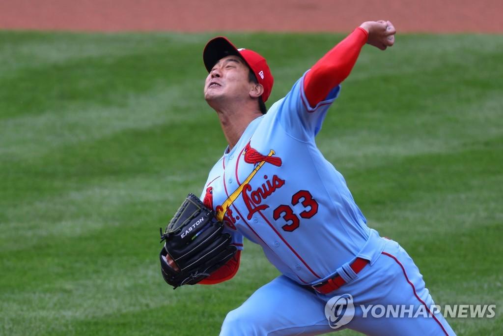 김광현, 시즌 첫 출전 3 이닝 3 실점 첫 승리 챌린지 실패 (합계)