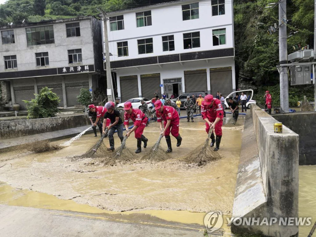 CHINA-CHONGQING-QIANJIANG-FLOOD-AFTERMATH (CN)