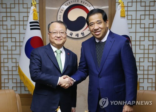 Tax chiefs of S. Korea, Cambodia agree to expand cooperation