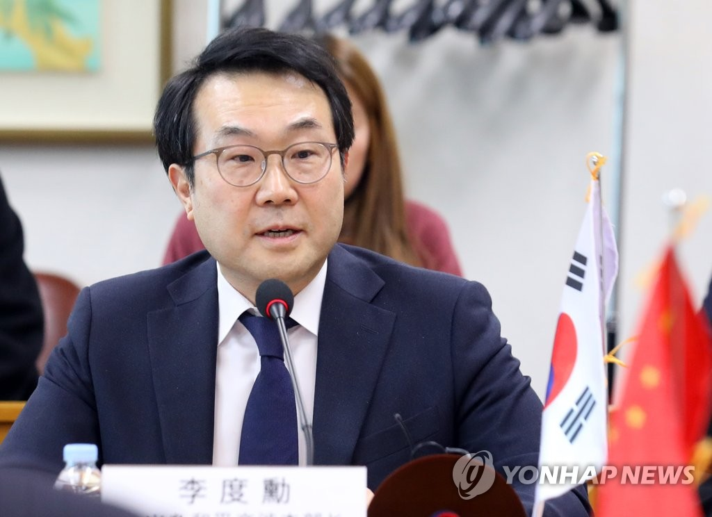 This file photo taken on Jan. 17, 2019, shows Lee Do-hoon, special representative for Korean Peninsula peace and security affairs at the Ministry of Foreign Affairs. (Yonhap)