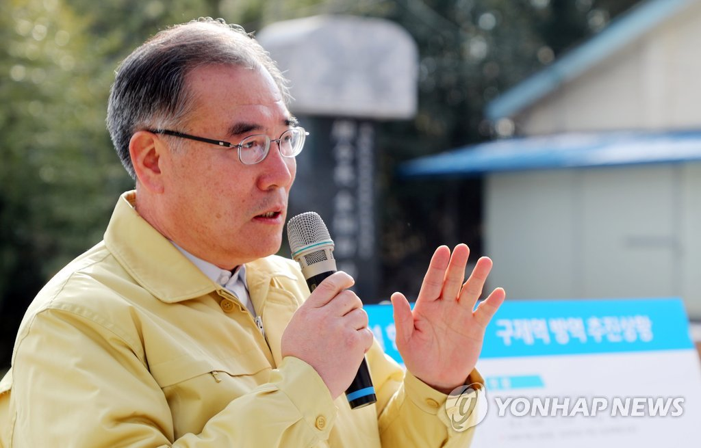 Agriculture Minister Lee Gae-ho (Yonhap)
