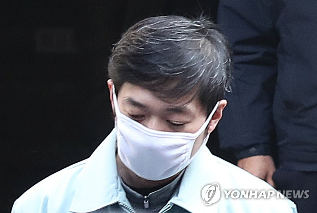 This file photo, taken Feb. 6, 2019, shows Cho Jae-beom, a former national short track speed skating coach, who was indicted on charges of sexually assaulting Olympic short track champion Shim Suk-hee. (Yonhap)