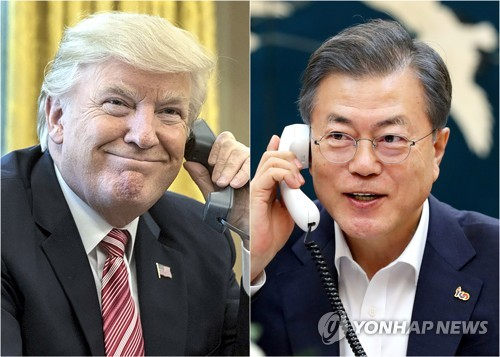 Trump says he is in no rush to denuclearize N. Korea