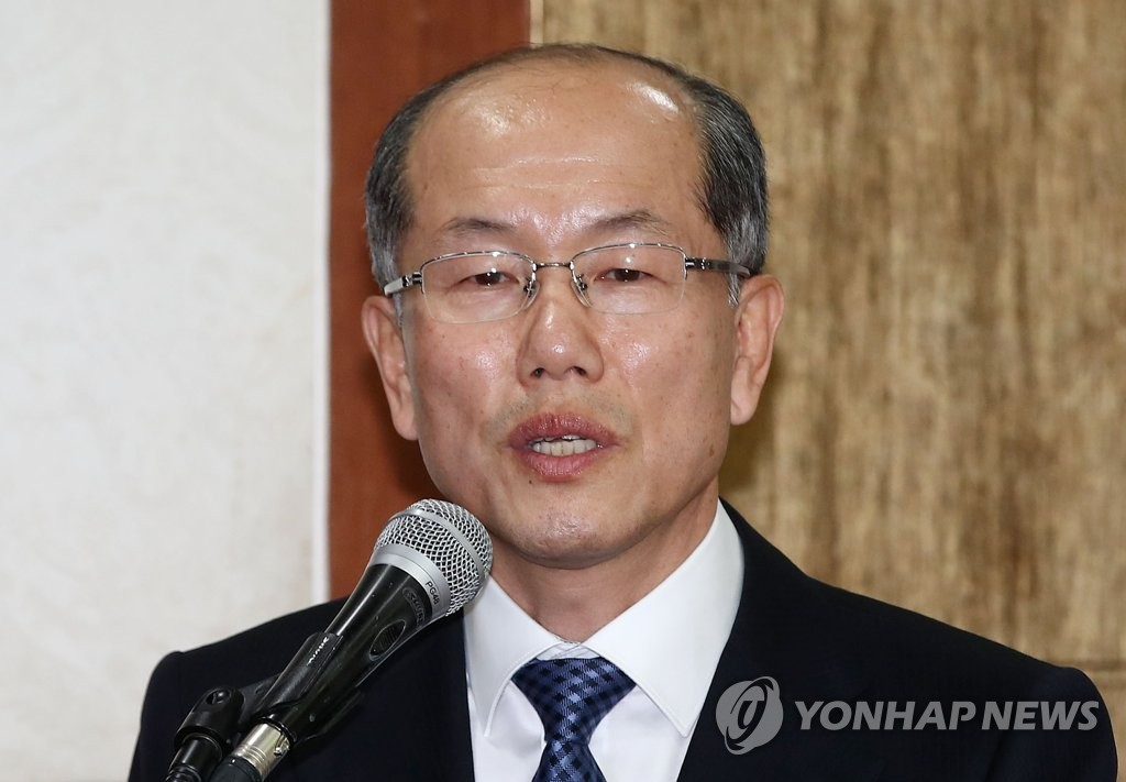 Kim You-geun, deputy chief of Cheong Wa Dae's national security office, speaks in this undated file photo. (Yonhap)