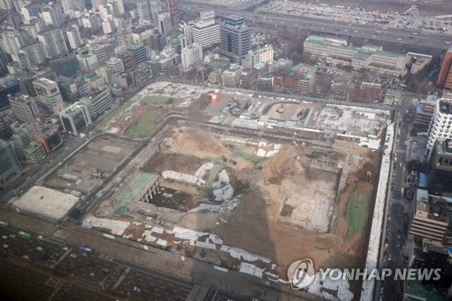 Site for Hyundai's new headquarters