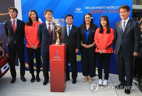 (Yonhap Interview) FIFA's top women's football officer welcomes Koreas' interest in co-hosting 2023 World Cup