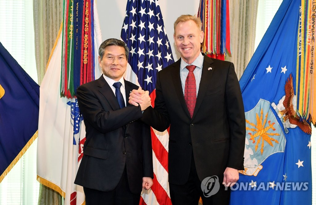 (LEAD) S. Korean, U.S. defense chiefs hold talks over N.K. nuclear, alliance issues