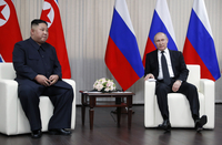 Kim, Putin begin to build rapport amid uncertainties in ties with U.S.