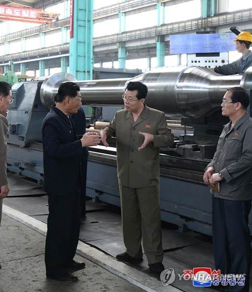 N. Korean premier visits heavy machinery complex