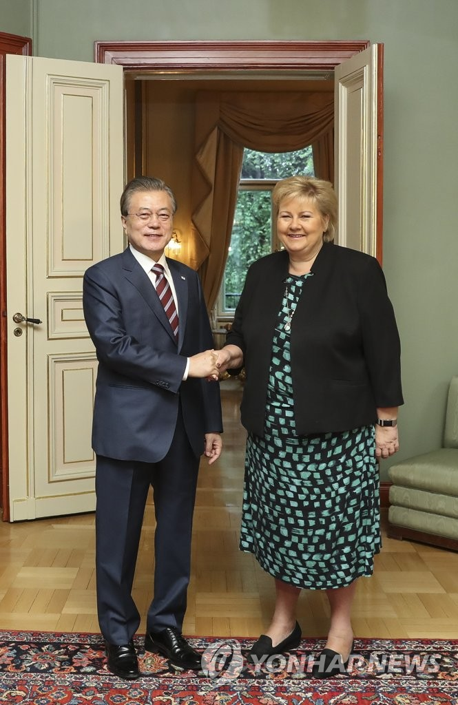 S. Korea-Norway summit