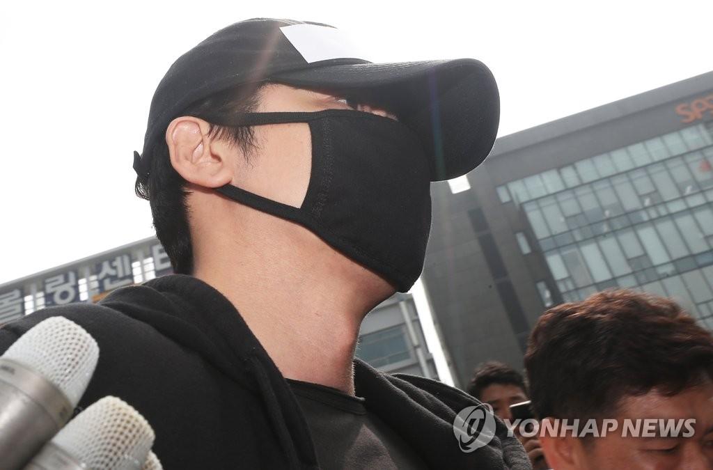성폭행 혐의 강지환 검찰 송치
