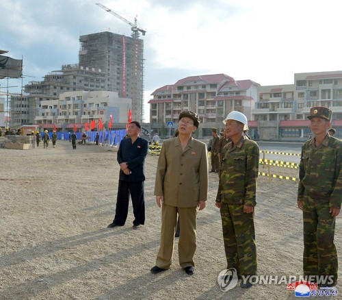 N. Korean premier inspects Samjiyon