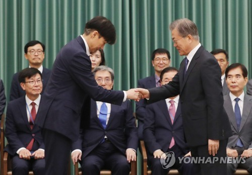 (5th LD) Moon appoints Cho Kuk as justice minister despite huge political opposition