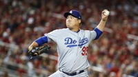 Dodgers' Ryu Hyun-jin in line for NLDS win after 5 up-and-down innings