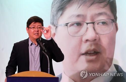 인사말 하는 김홍걸 민화협 상임의장
