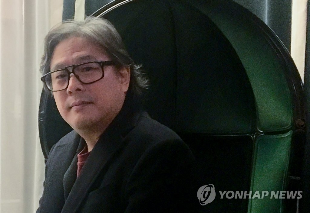 South Korean film director Park Chan-wook poses during an interview in Oslo, Norway, on Nov. 7, 2019. (Yonhap)