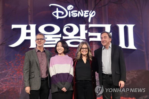 (LEAD) 'Frozen 2' animator Lee Hyun-min focuses on Anna's inner power