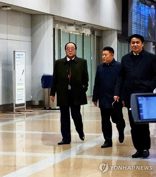 N. Korean minister handling external trade leaves for Syria