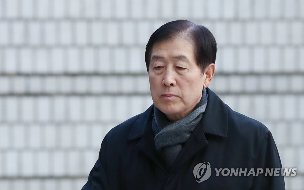This file photo, taken on Dec. 6, 2019, shows Choi Gee-sung, former head of Samsung Group's now-disbanded strategy control tower. (Yonhap)